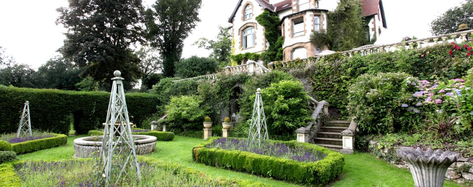 This large country house is perfect for house parties and a marquee can be erected in the garden
