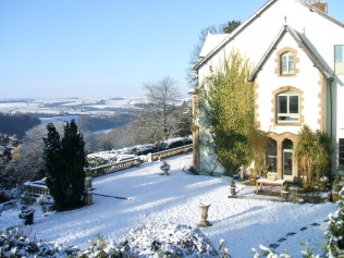 Winter Holiday in Devon in our large private rental house