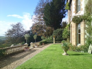 The front of our holiday property which is ideal for reunions