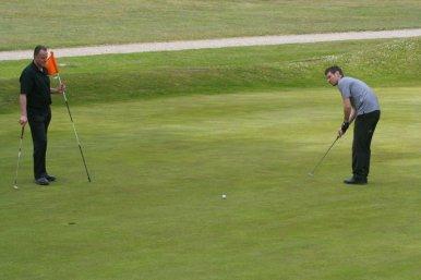 An 18-hole short course in Chulmleigh, Devon, less than five minutes walk away