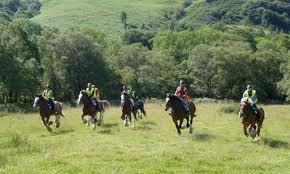 Exmoor and Dartmoor National Parks are great places to visit if you want to do some horse riding