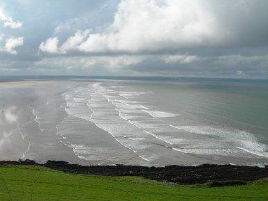 The North Devon Coast is spectacular