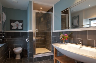 One of the Red Lion en-suite bathrooms
