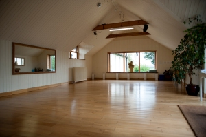 Our Dance or Yoga Studio for a active or restful retreat