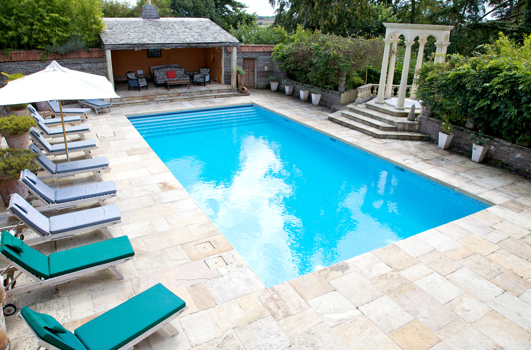 Swimming Pool At The House Rental The Old Rectory